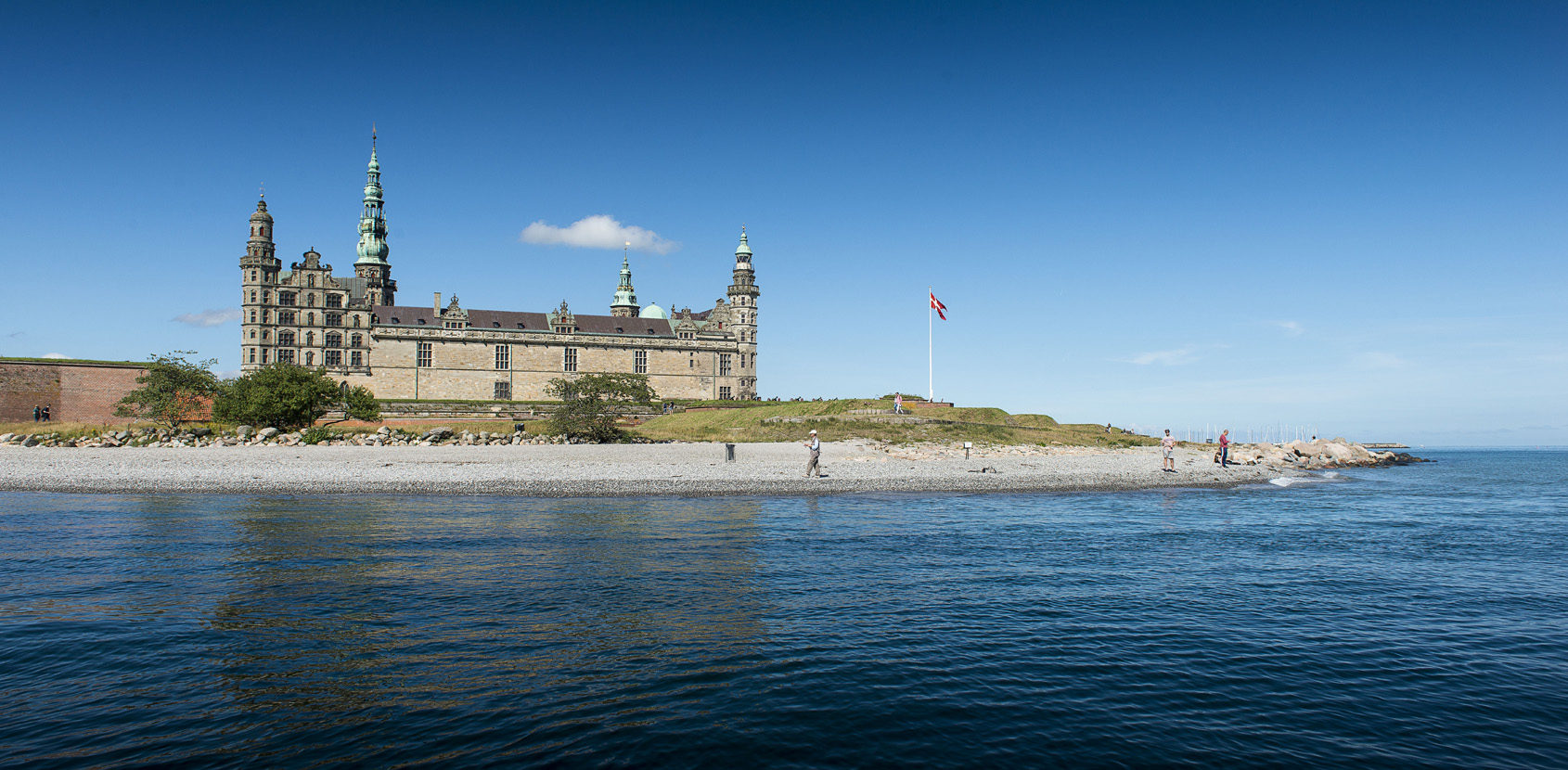Kronborg Castle is a jewel in The King's chest. Photo: Thomas Rahbek