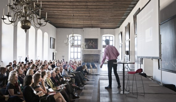 Conference at Kronborg Castle photo: Jon Norddahl