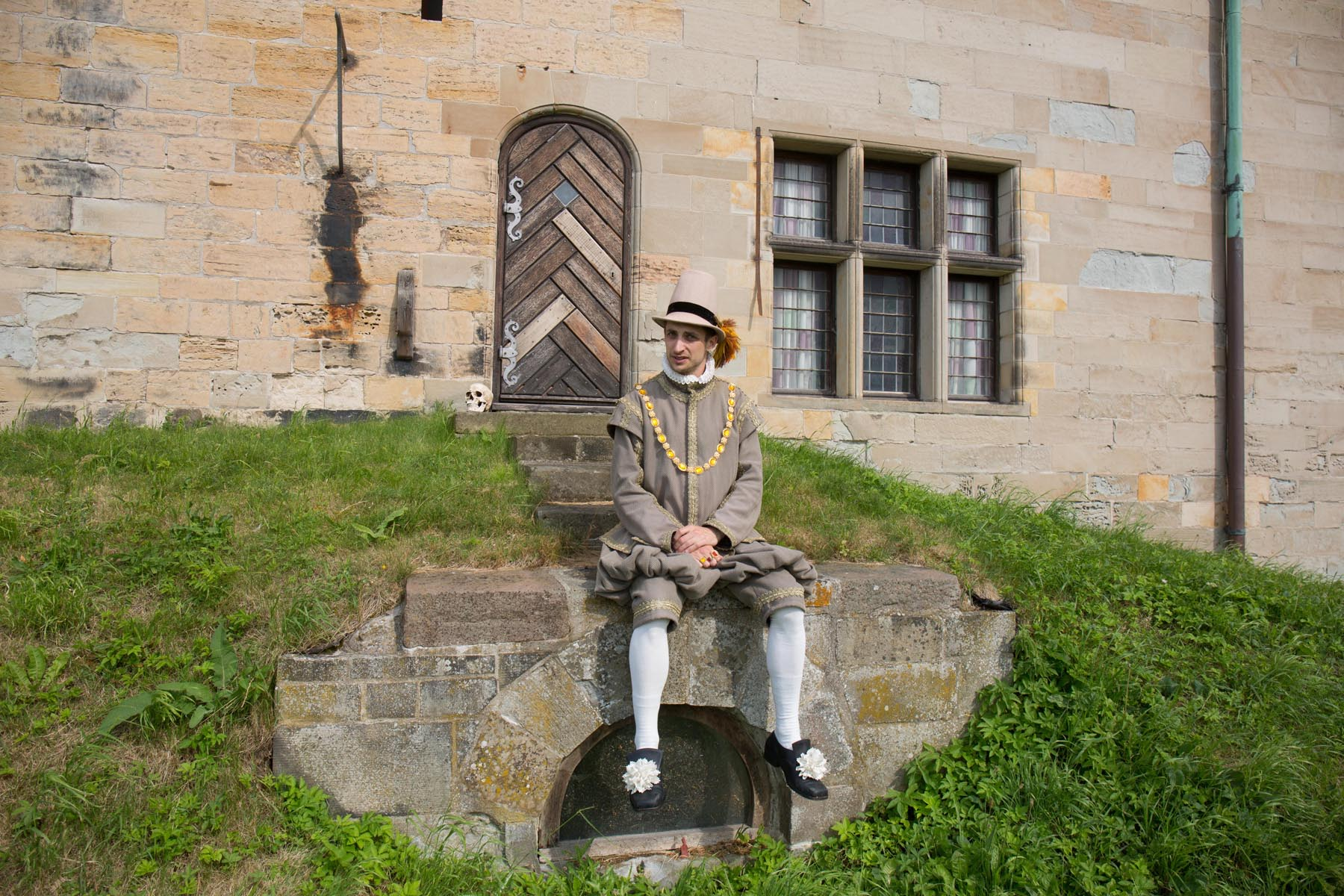 Horatio at Kronborg Castle photo Thorkild Jensen