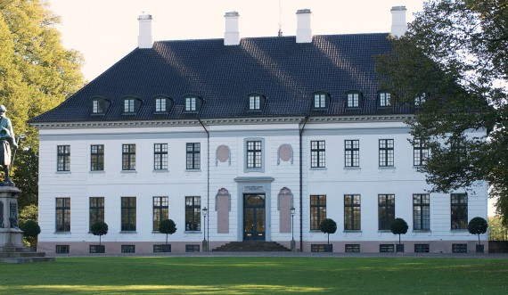 Bernstorff Palace. Photo: Finn Christoffersen